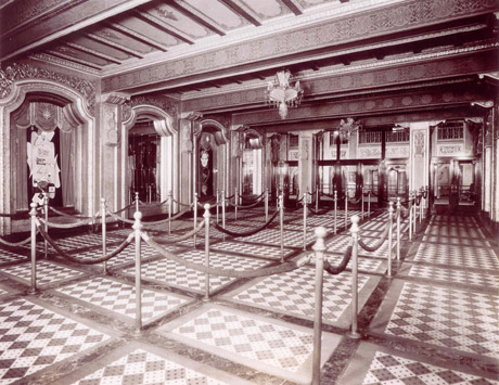 Historic photo of Loew's interior (image from PPAC official website)