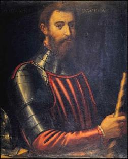Portrait of da Verrazzano (image from italianhistorical.org)