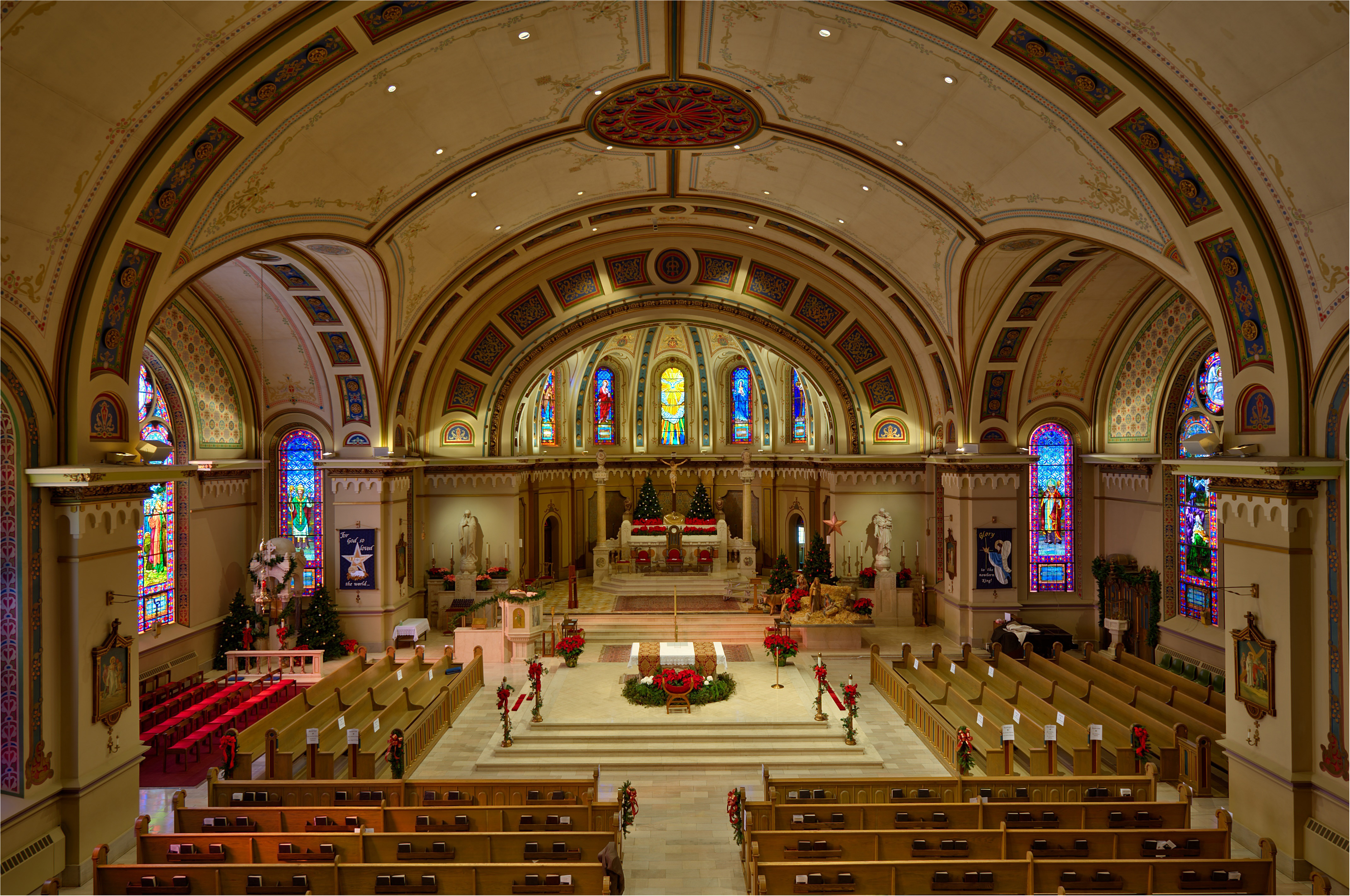 Cathedral interior (www.boisecathedral.org)
