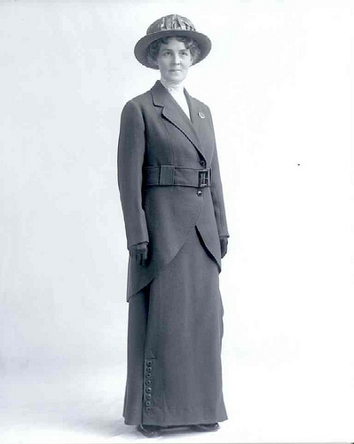Mabel Avery, the first female deputy game warden of the department (www.fishandgame.idaho.gov)