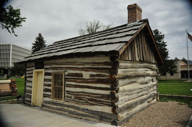 The O'Farrell Cabin as it appears today (www.boisearchitecture.org)