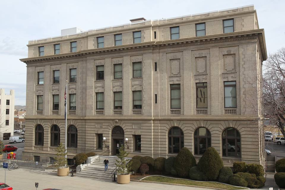 Old Federal Building and US Post Office as it appears today