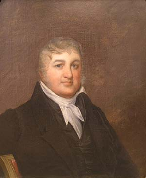Judge George Mathews. He served on the Louisiana Supreme Court from its inception on March 1, 1813 until his death in 1836, presiding as chief judge from July 4, 1813 until November 14, 1836. Courtesy of The Louisiana Supreme Court.