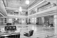 The interior of the terminal, photo from the official Lakefront Airport website
