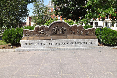 Rhode Island Irish Famine Memorial
