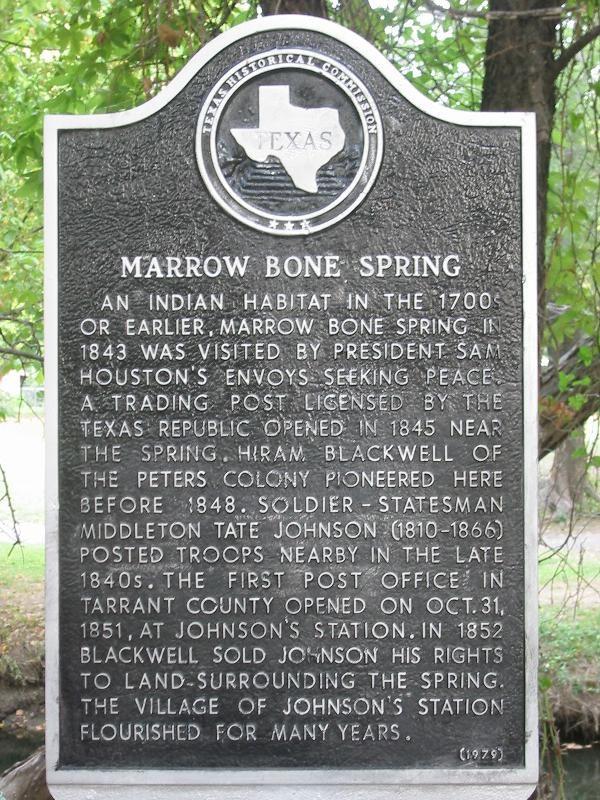 Marrow Bone Spring information panel (www.waymarking.com)