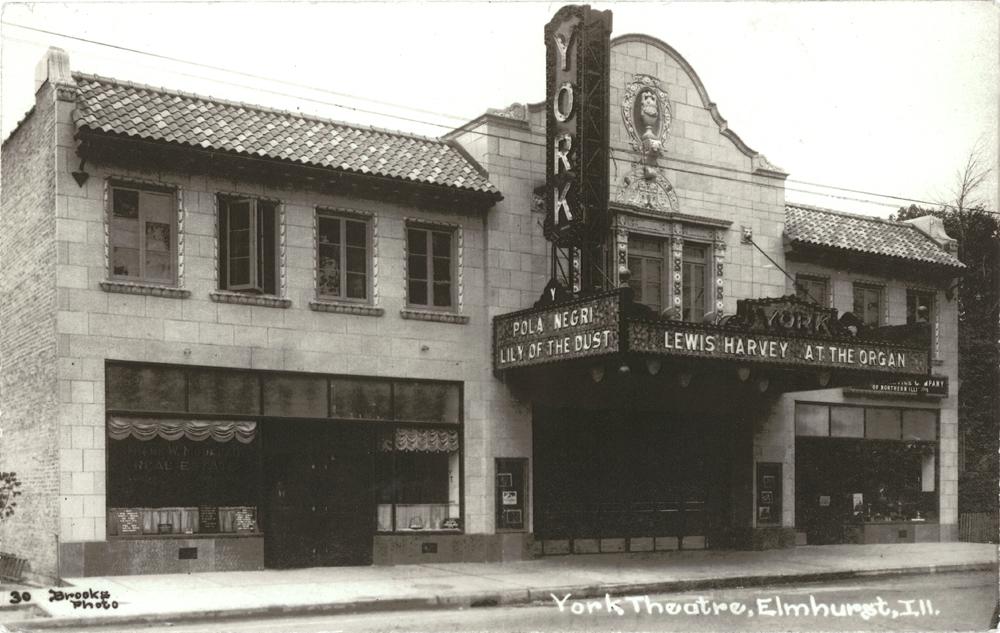 The theater in the late 1920s