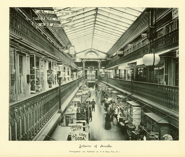 Interior of the Arcade