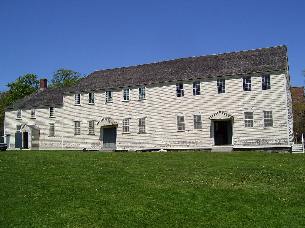 Great Friends Meeting House in Newport