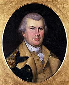 A 1783 Charles Willson Peale portrait of Greene