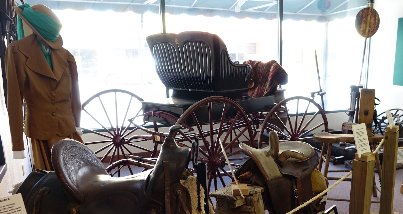 Carriage @ Monte Vista Historical Society Museum