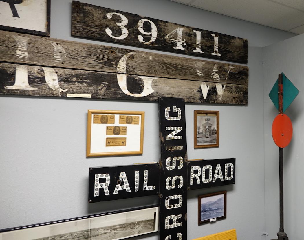 Denver and Rio Grande Western Railroad display