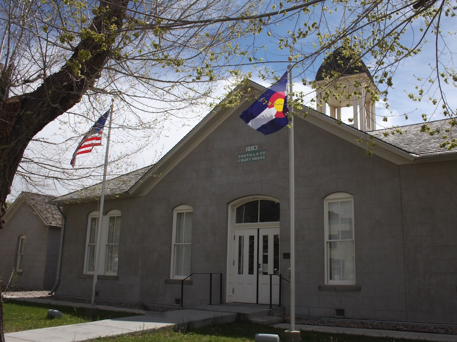 San Luis, Colorado - Courthouse built in 1883
