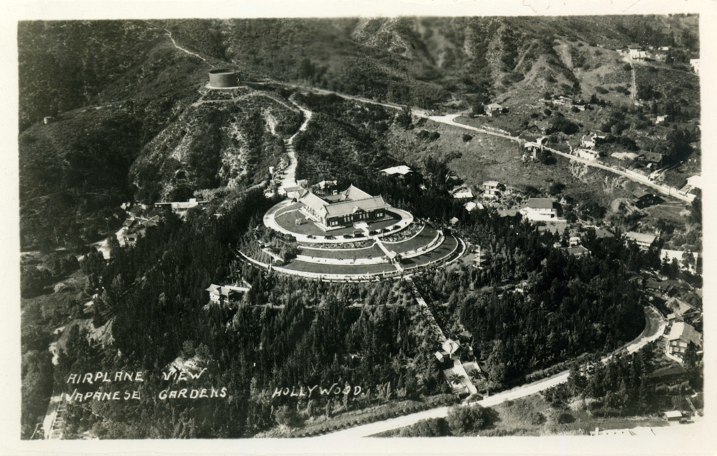 Aerial view of the Bernheimer Residence and Gardens (www.image-archeology.com)