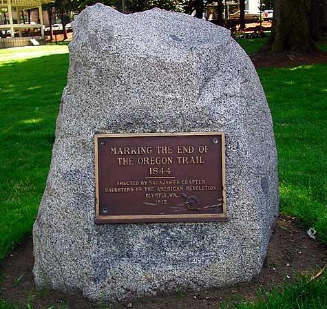 This marker is located in Sylvester Park, once the original town square and land donated to the city by Edmund Sylvester.