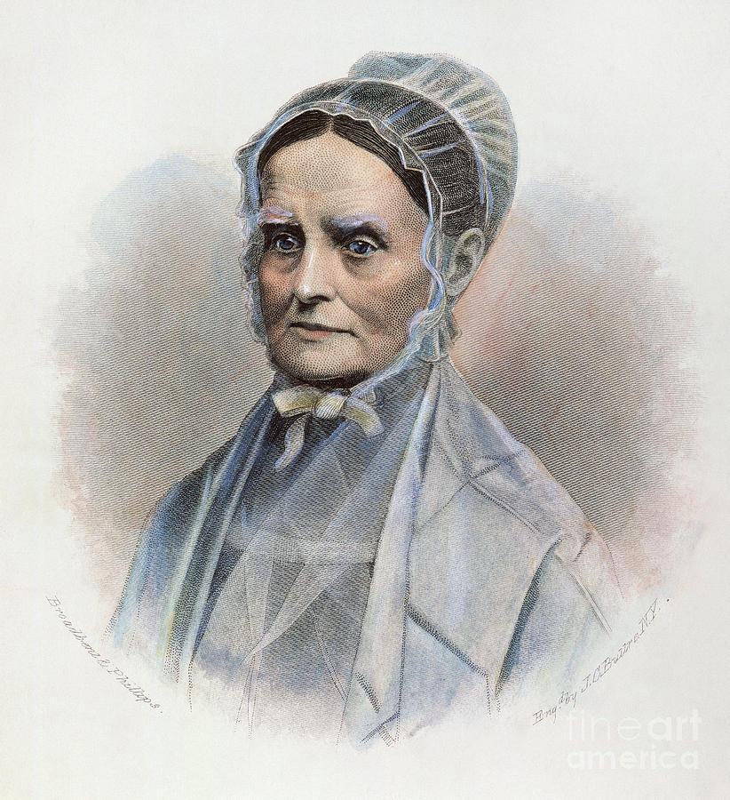 Photo of Lucretia Mott