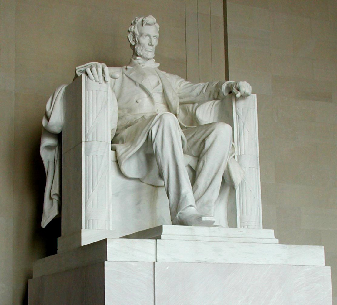 French created a 7 foot model of the Abraham Lincoln statue and sent that to a stone carving company in New York. The sculptors there took a year to complete the 19 ft. statue.