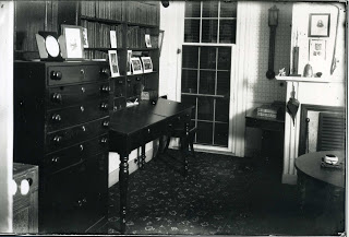 Cleaveland's study has been preserved within the house.