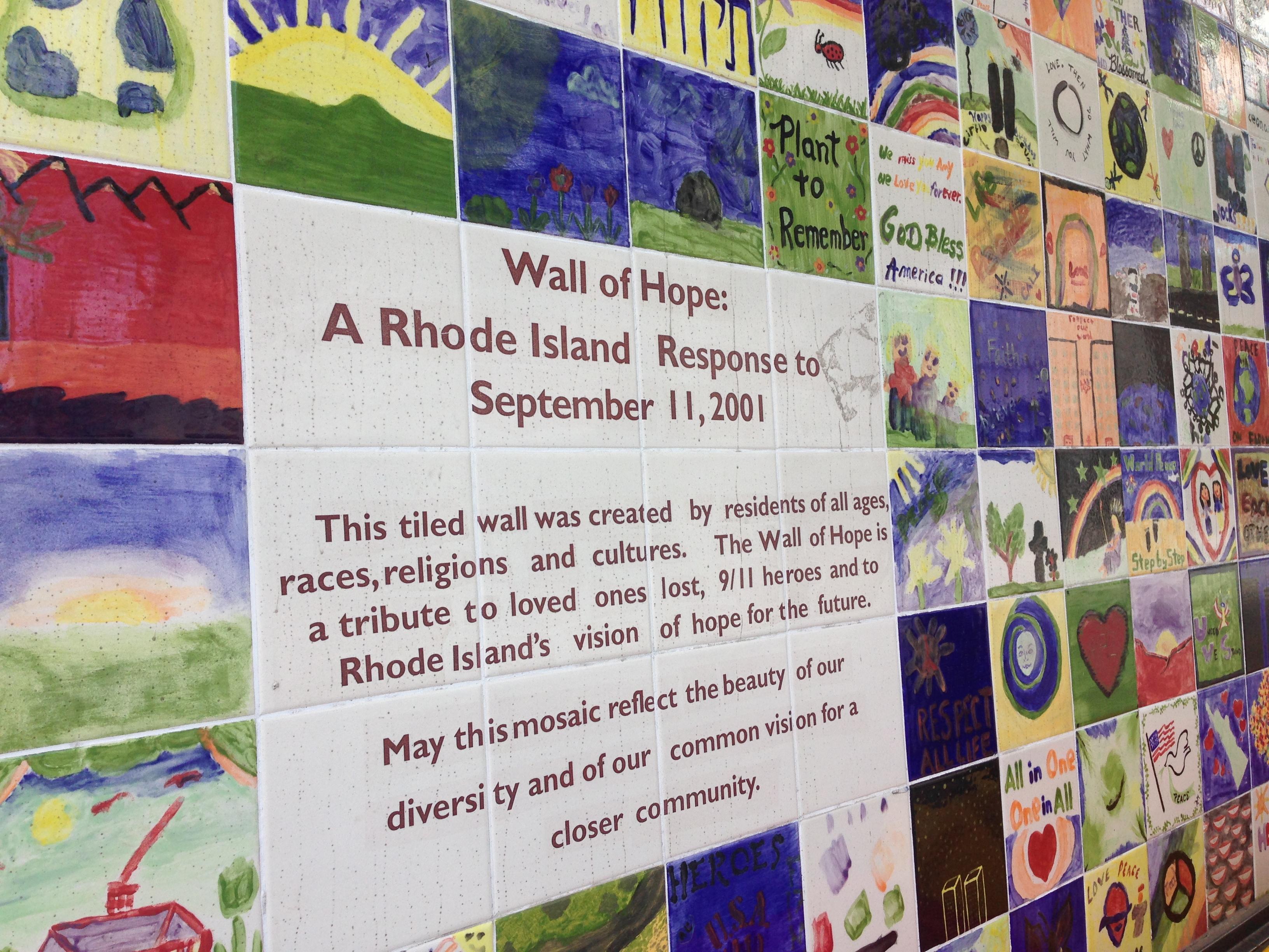 Dedication of the Wall of Hope Memorial
