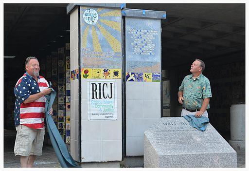 The Never Forgotten of Rhode Island installation