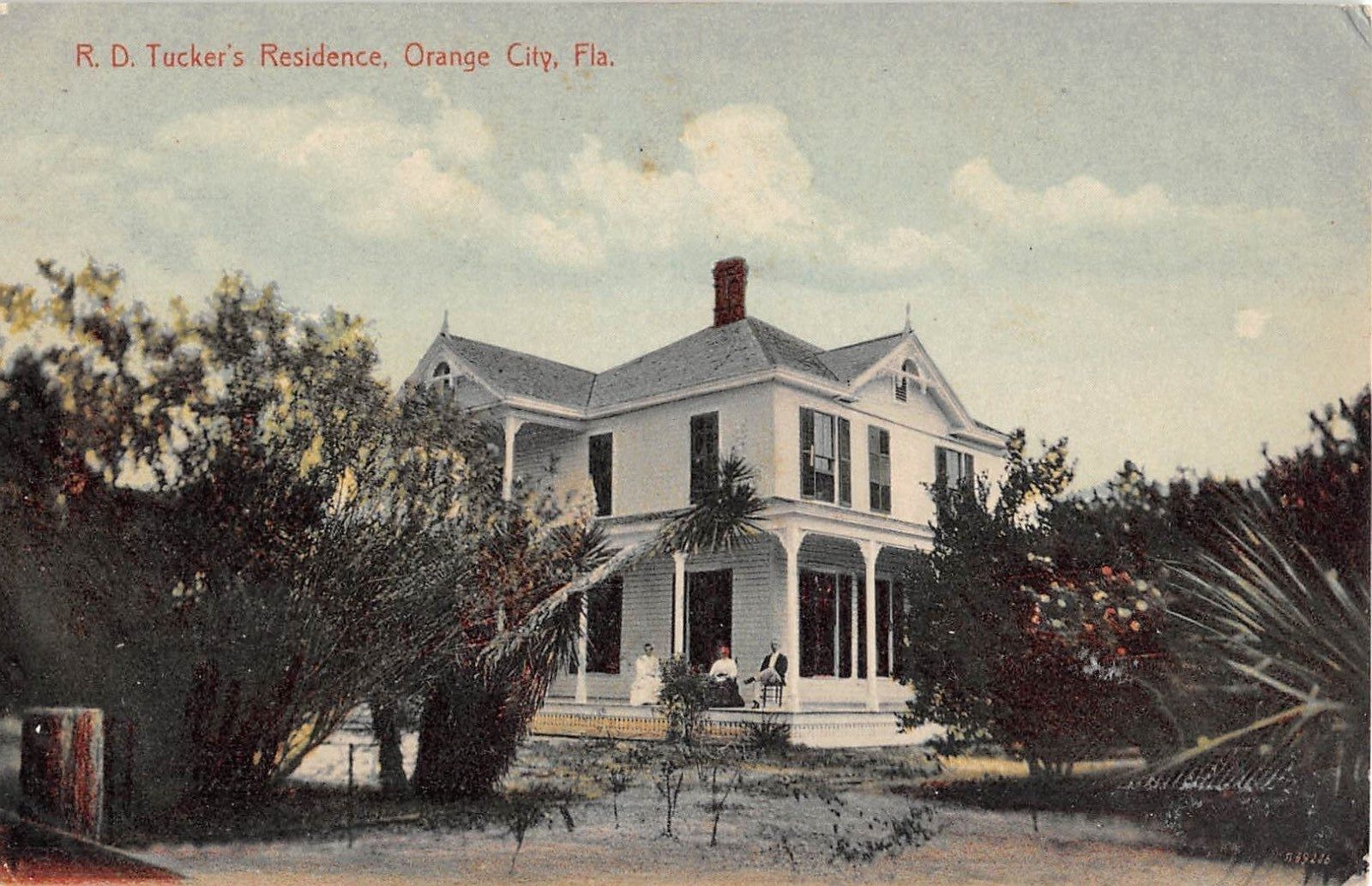 R.D. Tucker's Residence Orange City Fla