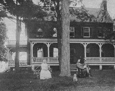 Woodlawn Manor circa 1880 (image from Montgomery Parks)
