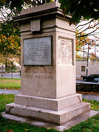 Roger Williams's Landing Place Monument