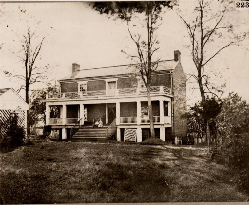 The McLean house is the house in which Confederate General Robert E. Lee surrendered to Union commander Ulysses S. Grant.