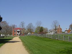 A view of Appomattox Court House