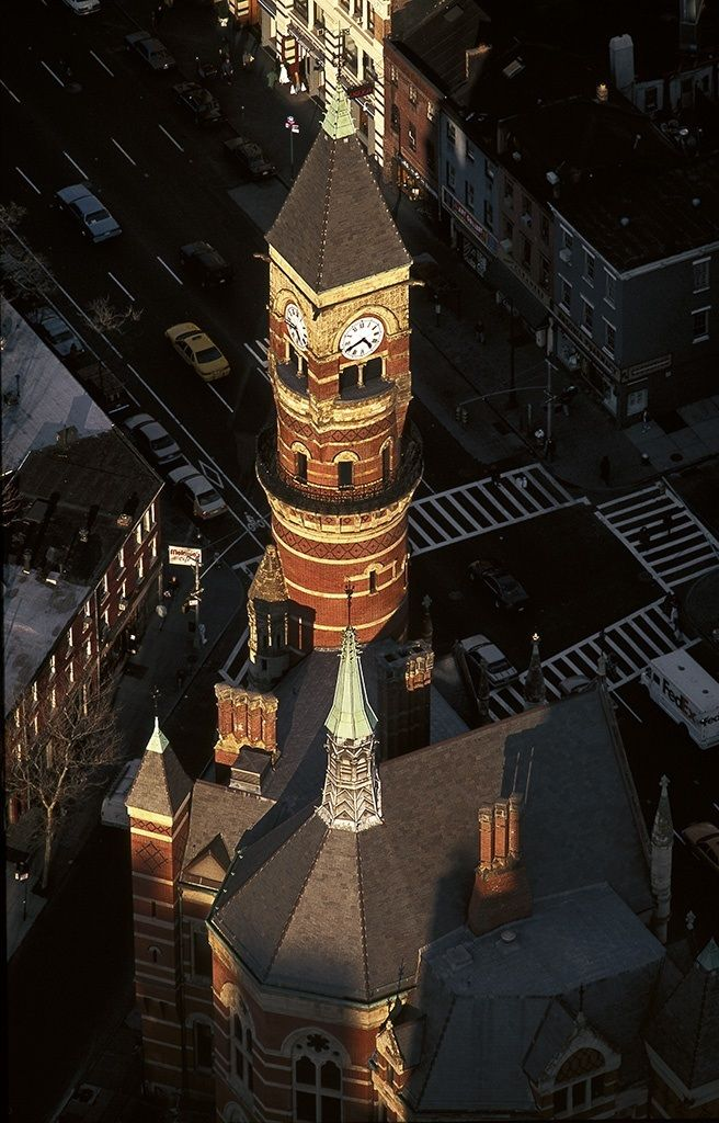 Jefferson Market Library (aerial view)