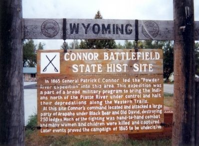Connor Battelfield Site Marker