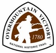 This a image of the trail markers used for the Overmountain Victory National Historic Trail
