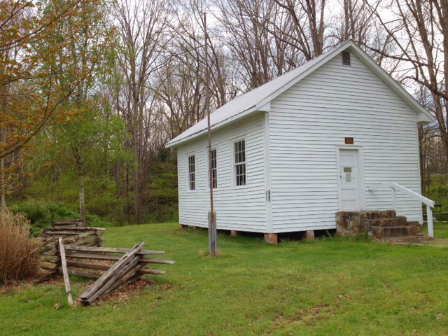 This historic one room schoolhouse was moved to the park and is available for educational tours and school groups.