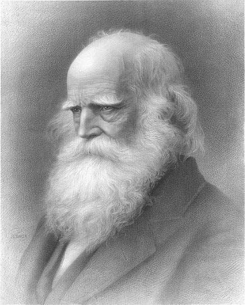 Portrait of the park's namesake, William Cullen Bryant (image from Bryant Park official website)
