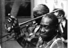 Jazz musician Kid Thomas