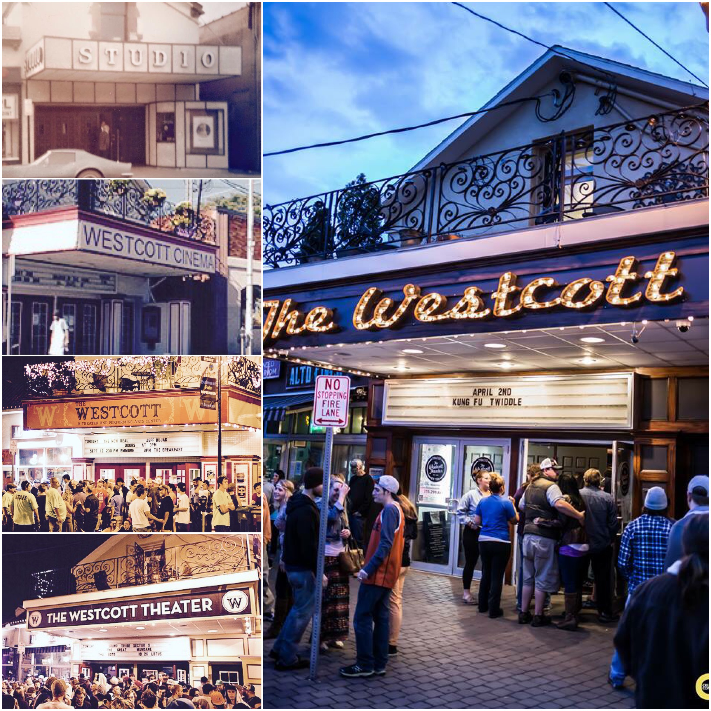 The Westcott over the years.