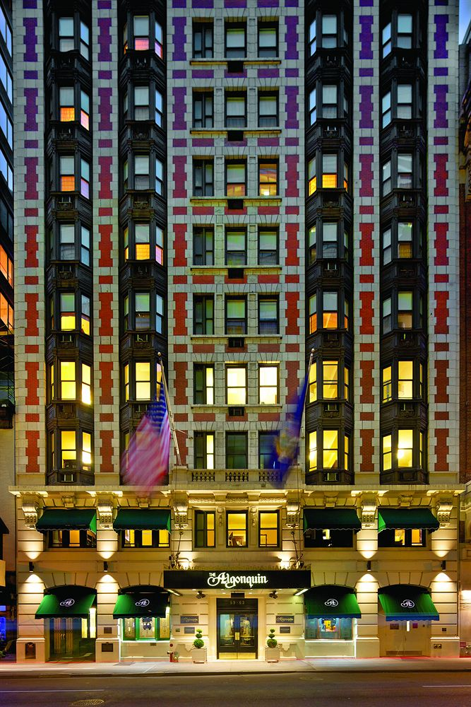 Algonquin Hotel (image from hotels.com)
