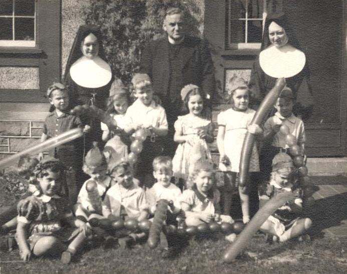 The Sisters of St. Joseph and their students at High Gate