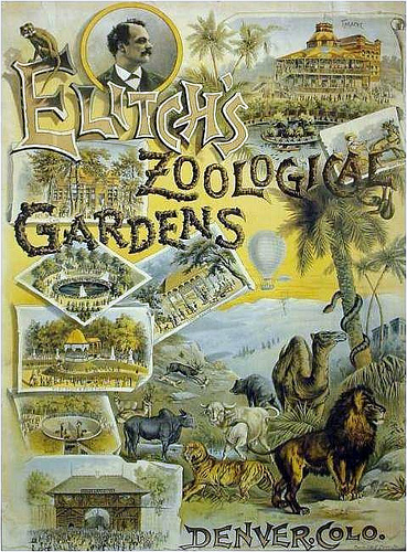 Early flyer for the Gardens