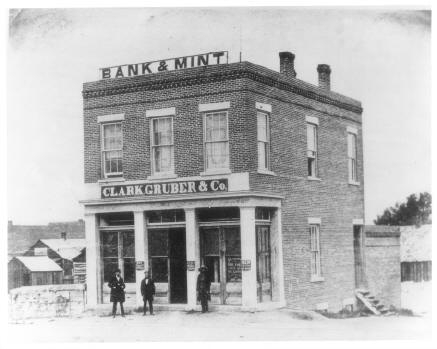 Clark and Gruber building, date unknown