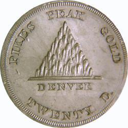 Pike's Peak $20 Coin