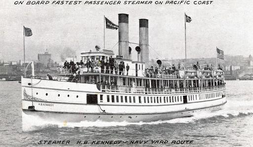 The Steamer HB Kennedy