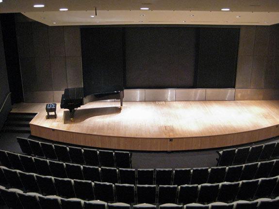The Bruno Walter Auditorium (capacity: 212)
