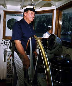The Duke at the Helm.