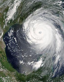 Hurricane Katrina at its strongest