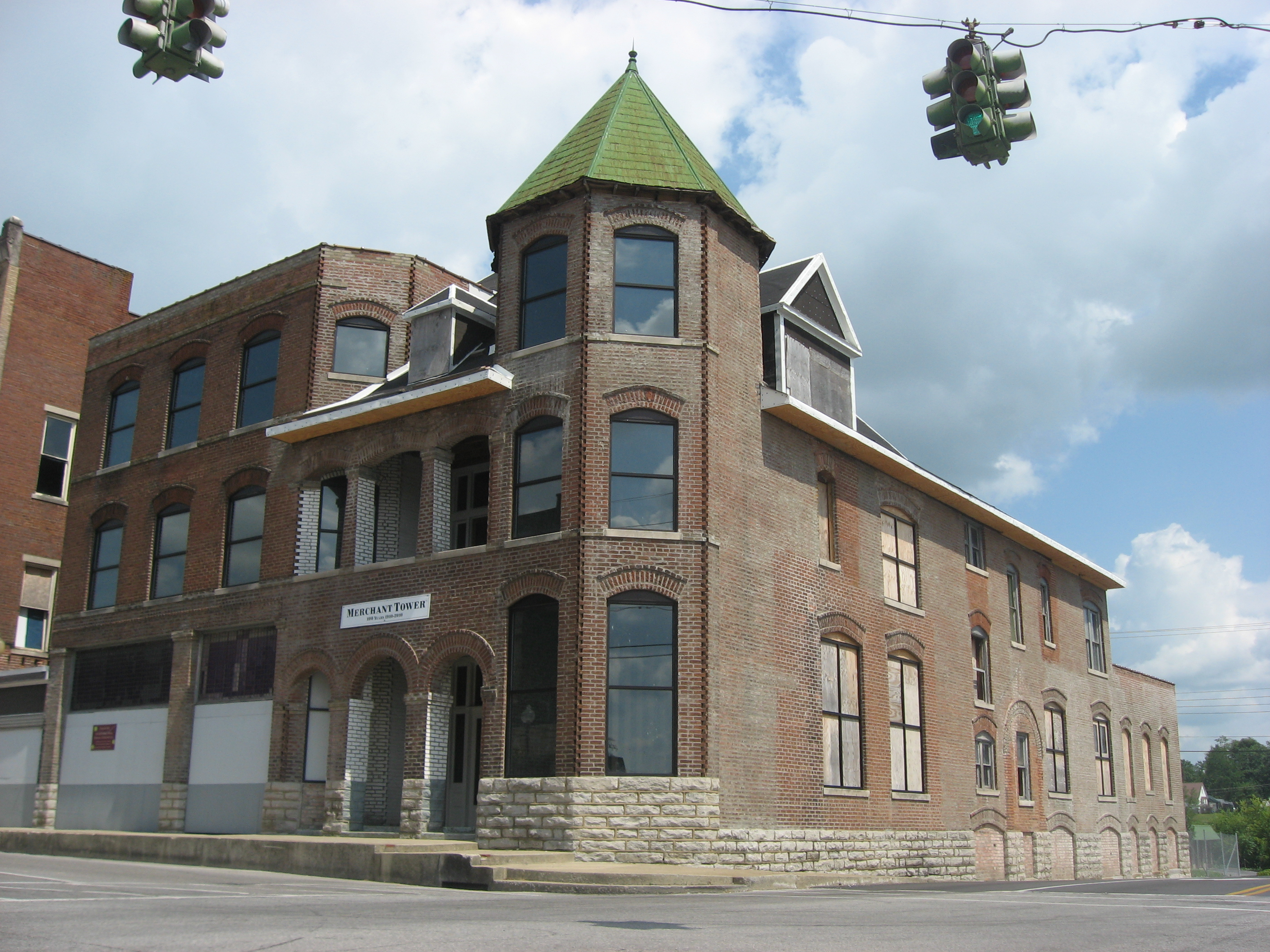 Constructed in 1910, this historic hotel is now being renovated