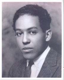 Langston Hughes spoke at the February 17, 1944 broadcast, Town Meeting: Let's Face the Race Question