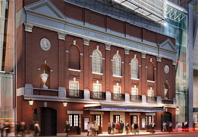 The Henry Miller Theater, renamed the Stephen Sondheim in 2010 (image from nytix.com)