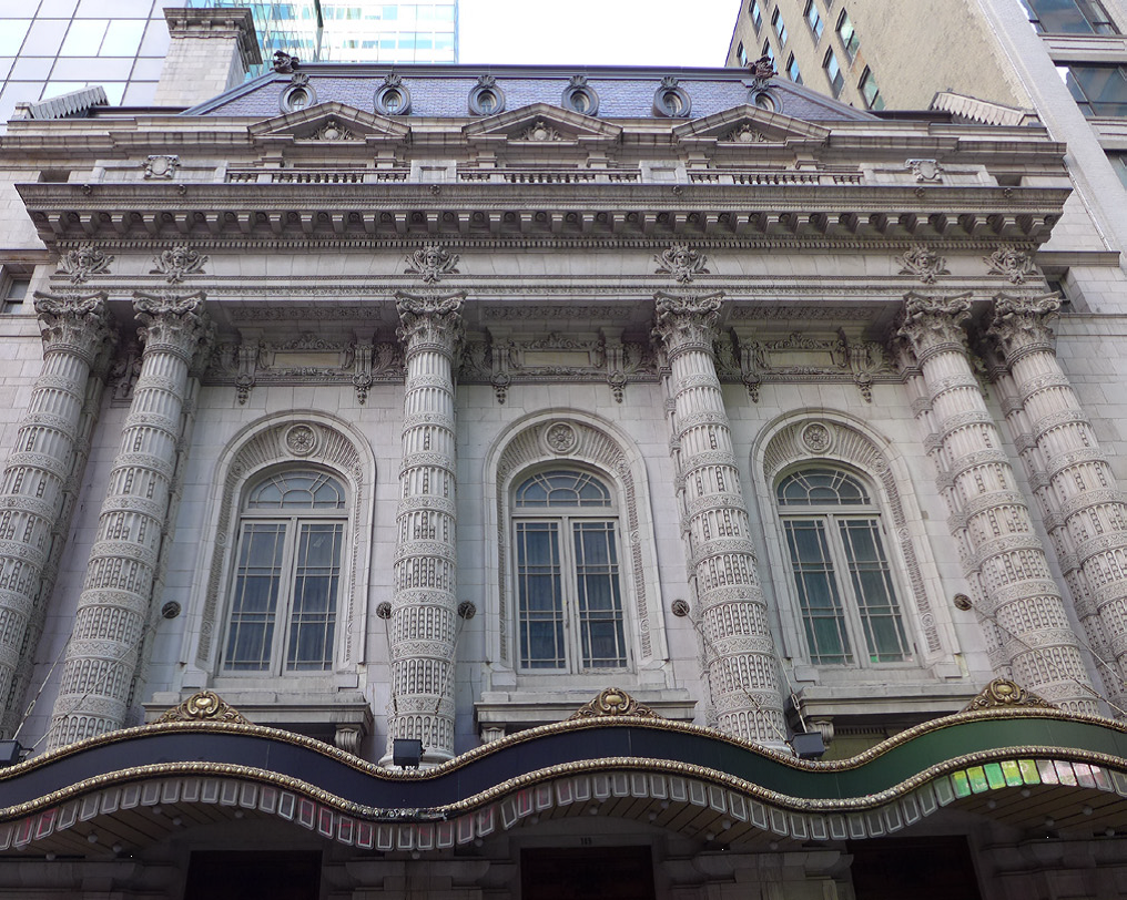 Lyceum Theatre (image from the NYC Landmark Preservation Commission)