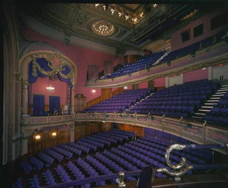 Modern interior of the Lyceum Theatre (image from broadwayscene.com)